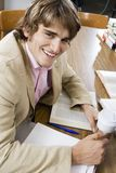 College Student Studying Royalty Free Stock Photography