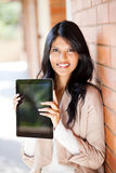 College student tablet computer Royalty Free Stock Photography