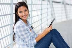 College student tablet pc Stock Photos