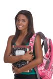 College student young African American woman royalty free stock photo