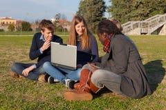 College Students Stock Photo
