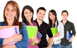 College students Stock Photos