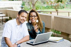 College students Stock Images