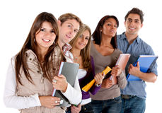 College students Royalty Free Stock Photography