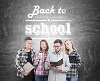 Free College Students Back To School Royalty Free Stock Photo - 75711085