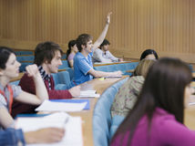 College Students Lecture Room Royalty Free Stock Photography