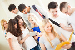 College Students Reading Royalty Free Stock Photo