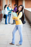 College students standing Royalty Free Stock Photos