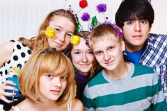 College students together Royalty Free Stock Images