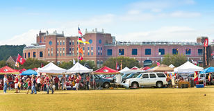 College Tailgaiting royalty free stock images