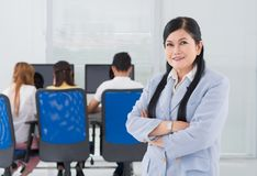 College teacher Stock Images