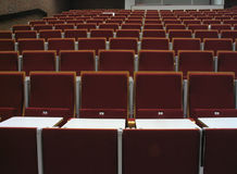 College Thatre II. Empty theatre for college Royalty Free Stock Photography