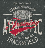 College track and field athletic training Stock Photos