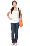 College university student woman Stock Images