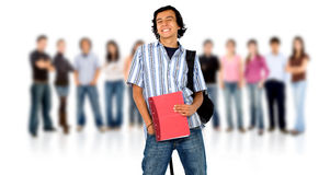 College or university students Stock Images