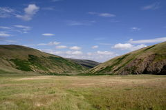College valley. In the Cheviot Hills stock image