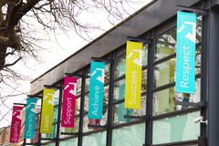 College von harringey Enfield und Nord- Ost-London Lizenzfreie Stockfotos