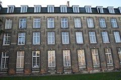 College vorderes Löwen Stockbild