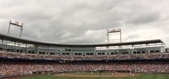 College World Series Royalty Free Stock Image