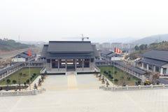 College Zhejiangs Buddha im Bau, luftgetrockneter Ziegelstein rgb Stockbilder