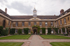 Collegeboden, Universität von Cambridge stockfotos