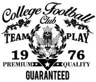 Collegegraphiken für T-Shirt Lizenzfreie Abbildung