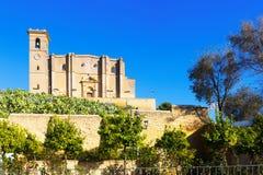 Collegekirche von Osuna Stockfoto