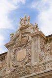 Collegekirche von San Isidoro, Leon Spain Stockbild