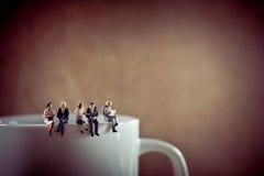 Colleghi di affari sulla pausa caffè Immagine Stock