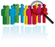 Colleghi di ricerca Immagine Stock
