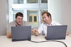 Colleghi di riunione d'affari Immagine Stock