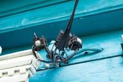 Colleghi i cavi elettrici Fotografie Stock