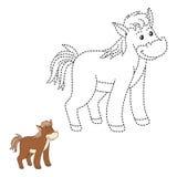 Colleghi i punti (cavallo) royalty illustrazione gratis