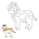 Colleghi i punti (mucca) royalty illustrazione gratis