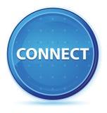 Colleghi il bottone rotondo principale blu di mezzanotte illustrazione vettoriale