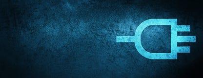 Colleghi il fondo blu speciale dell'insegna dell'icona illustrazione vettoriale