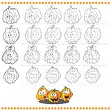 Colleghi il numero dei punti delle immagini - eserciti per royalty illustrazione gratis