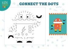 Colleghi l'illustrazione di vettore del gioco dei bambini dei punti royalty illustrazione gratis