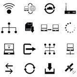 Colleghi l'insieme dell'icona illustrazione vettoriale