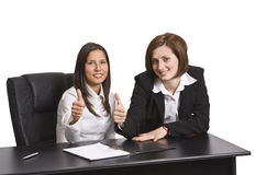 Colleghi positivi di affari immagine stock libera da diritti