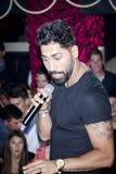 Colleghi-r, cantante rumeno Fotografie Stock Libere da Diritti