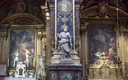 Collegiale L'isle sura los angeles Sorgue, Luberon, Provence, Francja Obraz Stock