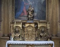 Collegiale of L'isle sur la Sorgue, Luberon, Provence, France Royalty Free Stock Photo