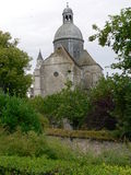 Collegiale Saint-Quiriace, Provins ( France ) Stock Photos