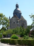 Collegiale Saint-Quiriace, Provins ( France ) Stock Photo