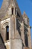 Collegiale St-Ours beside castle of Loches. Royalty Free Stock Photography