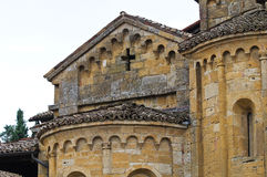 Collegiata Church. CastellArquato. Emilia-Romagna. Italy. Royalty Free Stock Images
