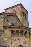 Collegiata Church. CastellArquato. Emilia-Romagna. Italy. Royalty Free Stock Photos
