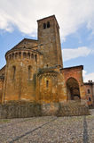 Collegiata Church. CastellArquato. Emilia-Romagna. Italy. Stock Photo