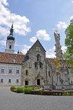 Collegiate Church of Heiligenkreuz, lower Austria Royalty Free Stock Photography